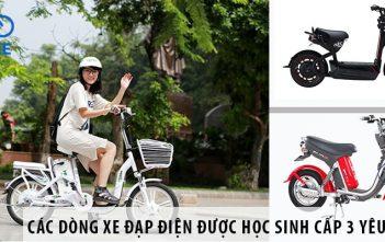 Các dòng xe đạp điện được học sinh cấp 3 yêu thích