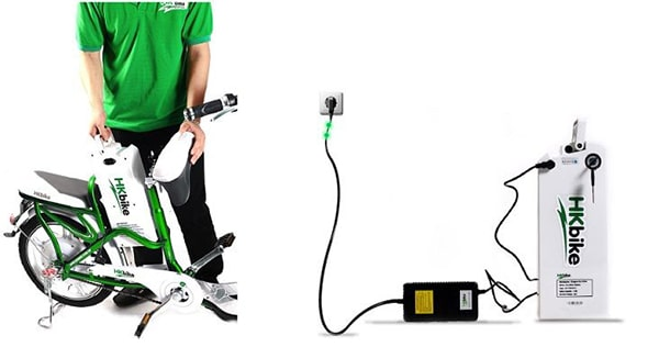 Chú ý khâu sạc pin cho xe đạp điện