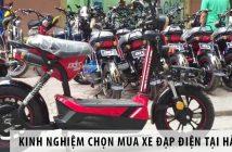 Kinh nghiệm chọn mua xe đạp điện tại Hà Nam