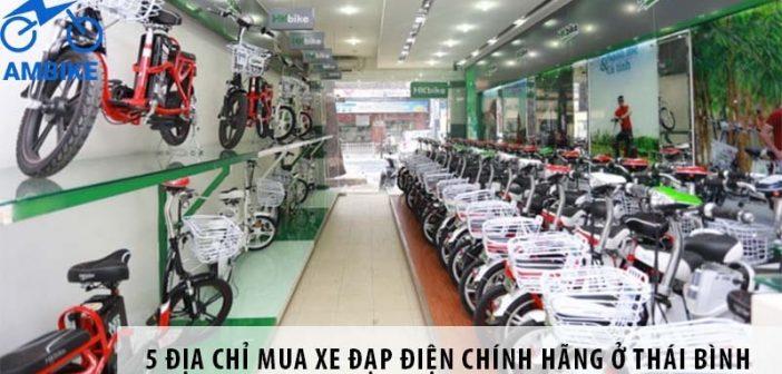 5 địa chỉ mua xe đạp điện chính hãng ở Thái Bình
