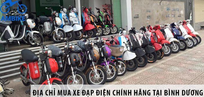 Địa chỉ mua xe đạp điện chính hãng tại Bình Dương