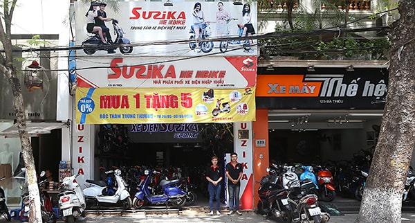 Cửa hàng xe điện Suzika Tp. Hồ Chí Minh