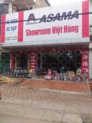Showroom xe đạp- xe đạp điện Asama Việt Hùng