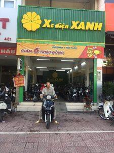Cửa hàng Xe điện Xanh Vĩnh Phúc