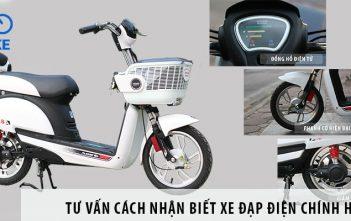 Tư vấn cách nhận biết xe đạp điện chính hãng