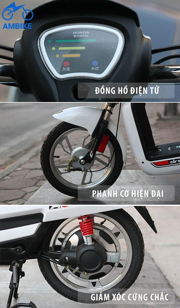 Nhận biết xe đạp điện chính hãng thông qua dáng vẻ bên ngoài