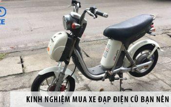 Kinh nghiệm mua xe đạp điện cũ - cách kiểm tra, địa chỉ mua