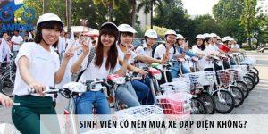 Sinh viên có nên đi xe đạp điện không?