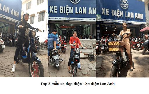 Cửa hàng xe điện Lan Anh là một trong những địa chỉ uy tín tại Hà Nội