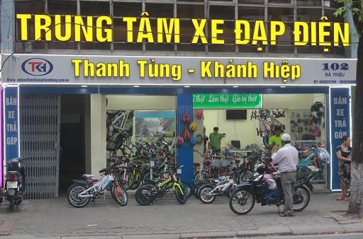 Trung tâm xe đạp điện Thanh Tùng- Khánh Hiệp số 102 Bà Triệu