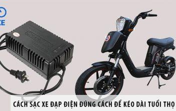 Cách sạc xe đạp điện đúng cách để kéo dài tuổi thọ ắc quy
