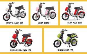 Các dòng xe đạp điện Nijia mới nhất