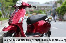 Địa chỉ bán xe máy điện cũ chất lượng đáng tin cậy tại Hà Nội