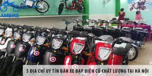5 địa chỉ uy tín bán xe đạp điện cũ chất lượng tại Hà Nội