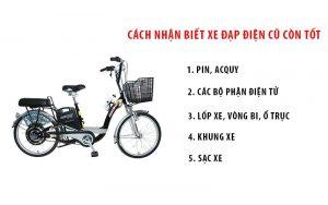 Cách nhận biết xe đạp điện cũ còn tốt