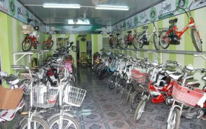 Cửa hàng xe điện Tân Mai
