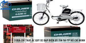 3 địa chỉ thay ắc quy xe đạp điện uy tín tại TP Hồ Chí Minh