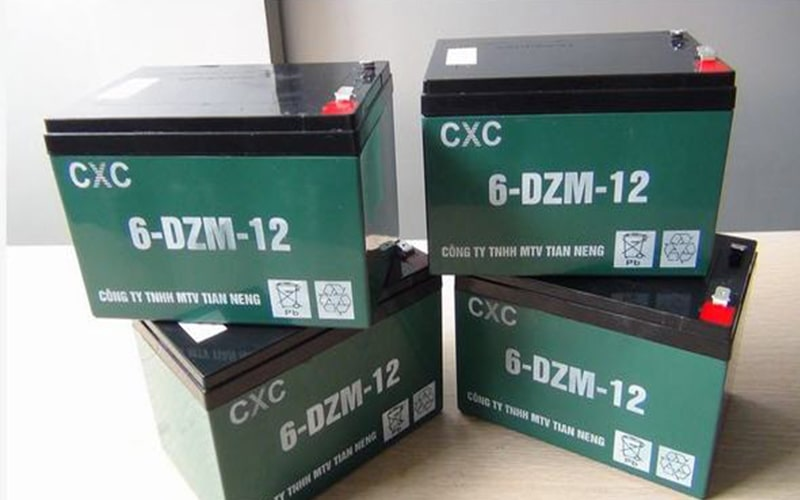 Sản phẩm ắc quy CXC Thiên Năng