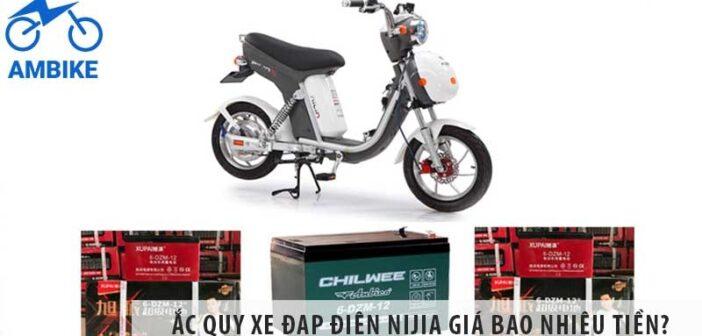 Ắc quy xe đạp điện Nijia giá bao nhiêu tiền?