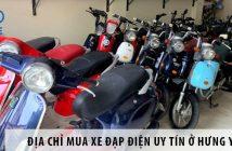 Địa chỉ mua xe đạp điện uy tín ở Hưng Yên