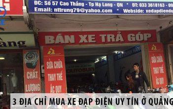 3 địa chỉ mua xe đạp điện uy tín ở Quảng Ninh