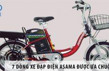 Top 7 dòng xe đạp điện Asama được ưa chuộng