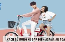 Cách sử dụng xe đạp điện Asama an toàn