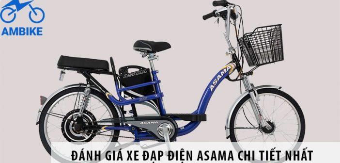 Đánh giá xe đạp điện Asama chi tiết nhất