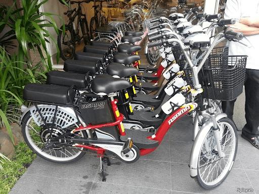 Các dòng xe đạp điện Asama với thiết kế nhẹ nhàng, hiện đại