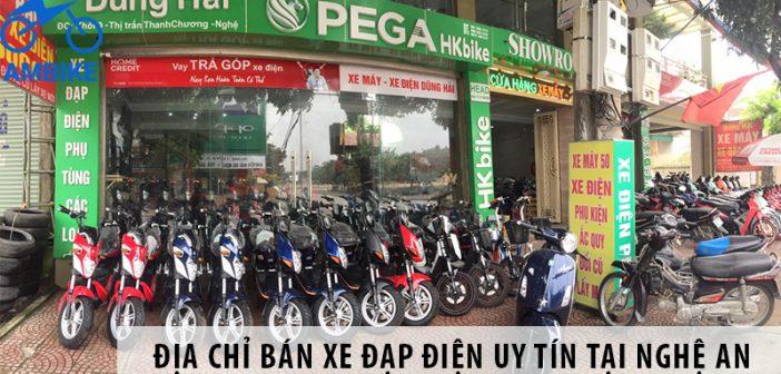 Địa chỉ bán xe đạp điện uy tín tại Nghệ An
