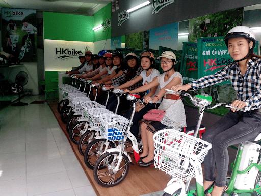 Xe đạp điện HKbike Thái Nguyên