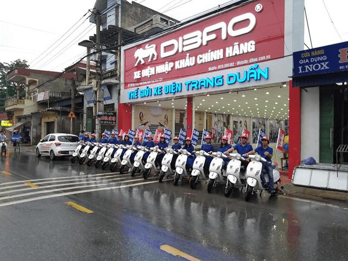 Cửa hàng xe đạp điện Trang Duẩn
