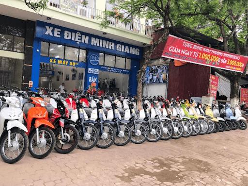Xe điện Minh Giang Bắc Ninh
