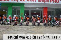 Địa chỉ mua xe điện uy tín tại Hà Tĩnh