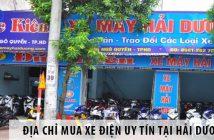 Địa chỉ mua xe điện uy tín tại Hải Dương