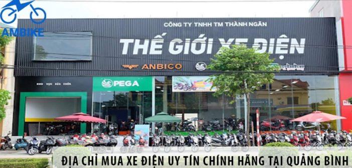 Địa chỉ mua xe điện uy tín chính hãng tại Quảng Bình