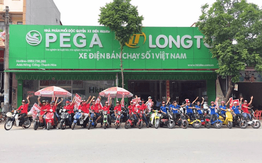 Xe đạp điện PEGA Thanh Hóa