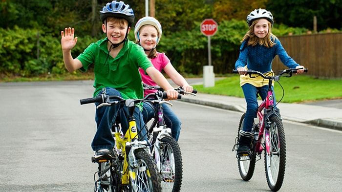 Tư thế đi xe đạp đúng chuẩn