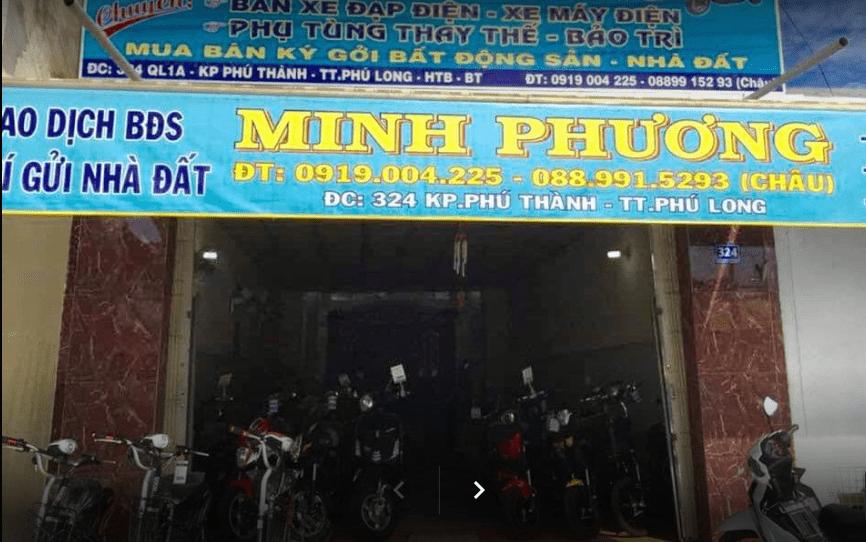 Cửa hàng xe đạp điện - xe máy điện Minh Phương