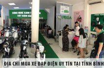 Địa chỉ mua xe đạp điện uy tín tại tỉnh Bình Thuận