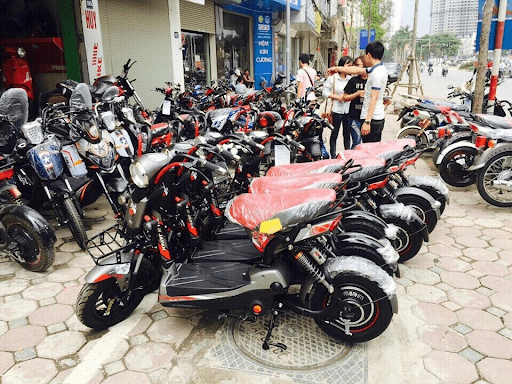 Cửa hàng xe đạp điện Anh Vũ
