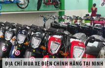 Địa chỉ mua xe điện chính hãng tại Ninh Thuận