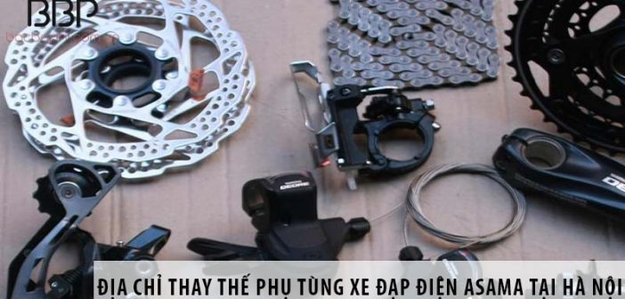 Địa chỉ thay thế phụ tùng xe đạp điện Asama uy tín tại Hà Nội
