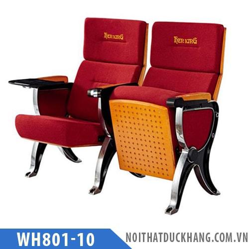 Ghế hội trường WH801-10 bọc nỉ chống cháy