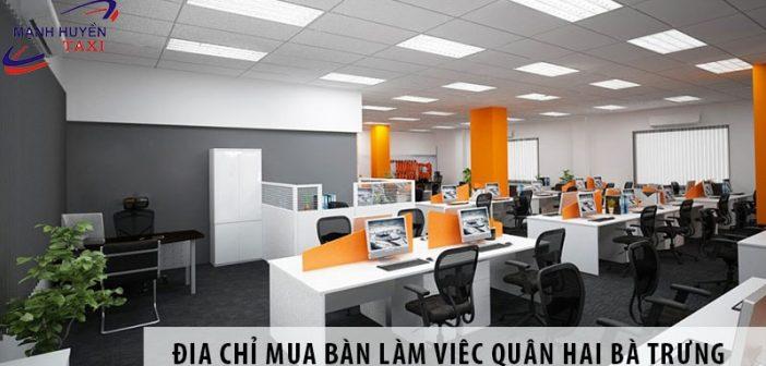 Địa chỉ mua bàn làm việc giá rẻ quận Hoàng Mai, Hà Nội