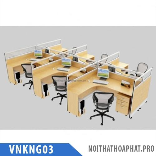 Vách ngăn văn phòng VNKNG03