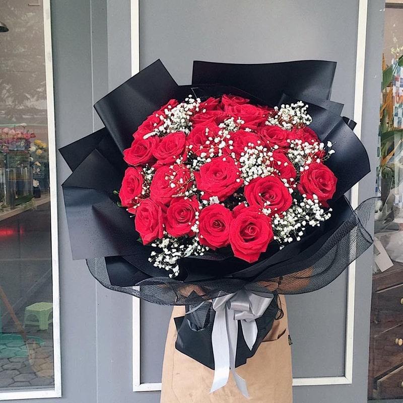 Hoa hồng vẫn luôn là loài hoa được yêu thích lựa chọn
