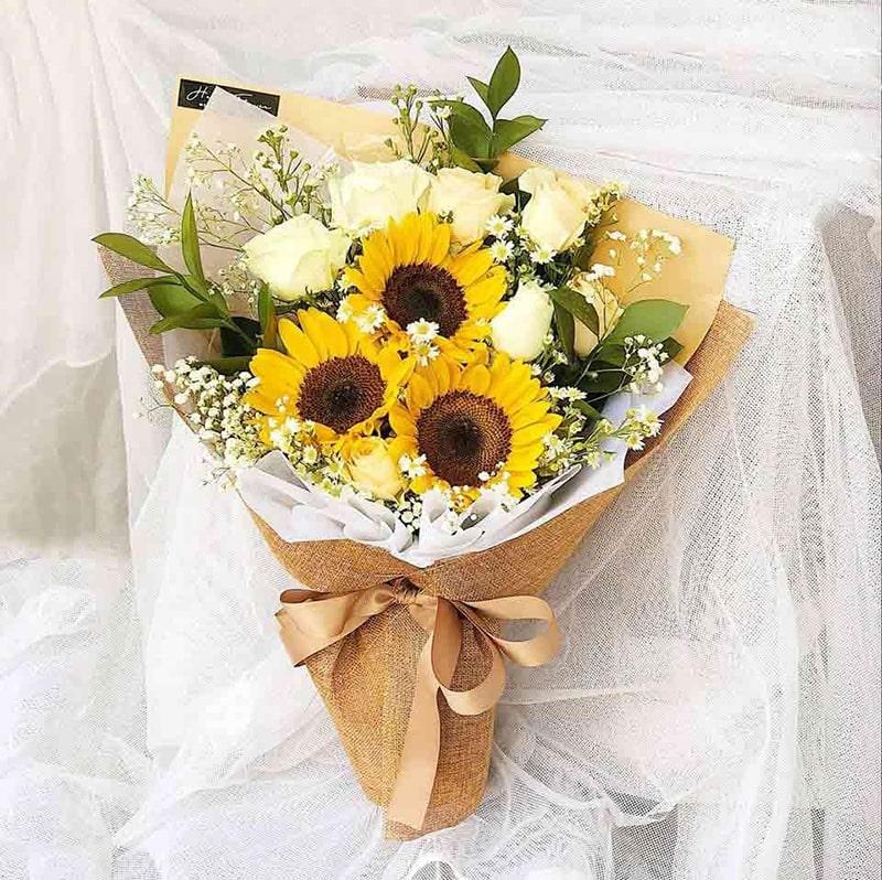 Hoa hướng dương nằm trong số những loài hoa đẹp nhất dành tặng người yêu