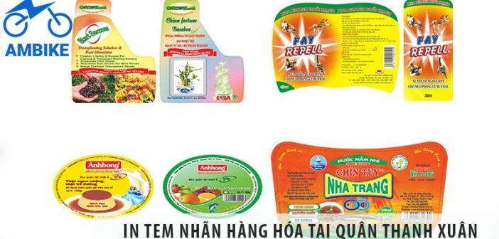In tem nhãn hàng hóa tại quận Thanh Xuân siêu nhanh, siêu rẻ